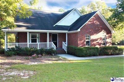 Darlington Single Family Home Uc/Show For Back Up: 2843 Timmonsville Hwy
