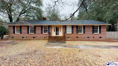 Hartsville Single Family Home Uc/Show For Back Up: 2616 Pineland Circle