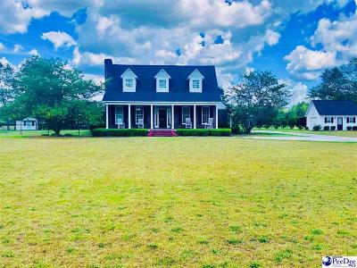 Marion SC Single Family Home For Sale: $229,900