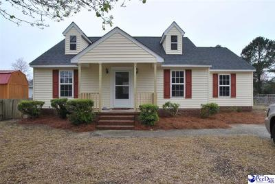 Florence  Single Family Home Uc/Show For Back Up: 3606 Pineneedles Road