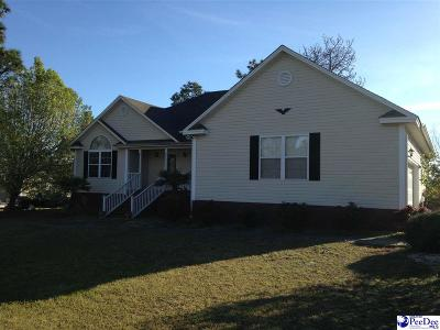 Hartsville Single Family Home Uc/Show For Back Up: 1311 Silver Fox Drive