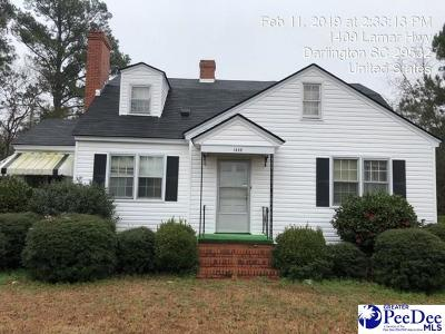 Darlington Single Family Home For Sale: 1409 Lamar Hwy