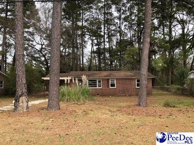 Florence Single Family Home For Sale: 2110 Mechanicsville Road