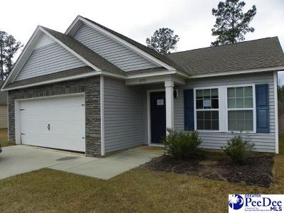 Florence County Single Family Home For Sale: 3105 Longfellow Dr