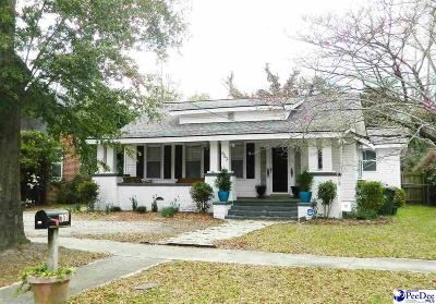 Florence County Single Family Home New: 603 S McQueen St