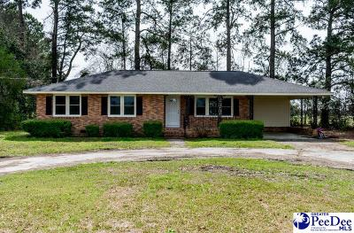 Hartsville Single Family Home Uc/Show For Back Up: 4217 Indian Branch