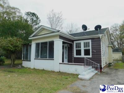 Florence County Single Family Home New: 706 King Avenue