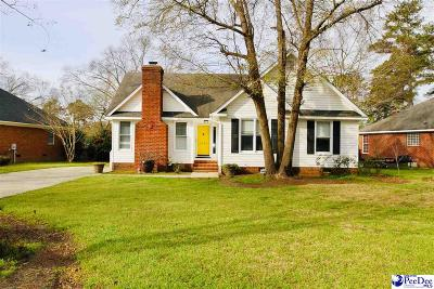 Florence County Single Family Home New: 2226 Chadwick Dr