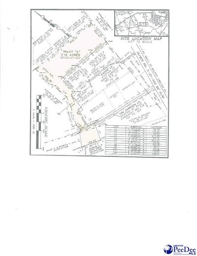 Florence County Residential Lots & Land New: 3401 Oliver Road