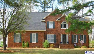 Florence County Single Family Home New: 215 Ames Bury Pointe