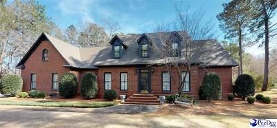 Florence County Single Family Home For Sale: 616 Lancelot Drive
