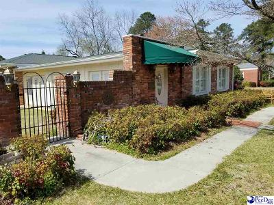 Bennettsville, Blenheim, Cilo, Clio, Mccoll, Tatum, Wallace Single Family Home For Sale: 204 Tyson Avenue