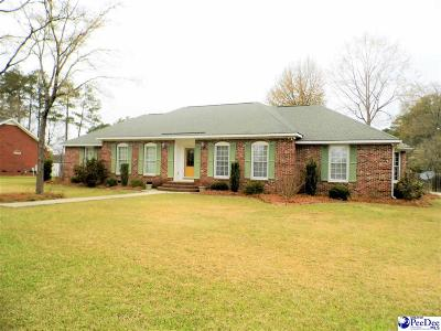 Dillon SC Single Family Home For Sale: $189,900