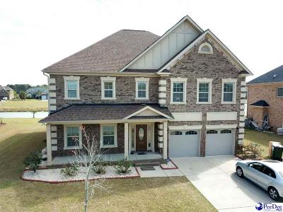 Florence Single Family Home Uc/Show For Back Up: 4114 Lake Moultrie Drive
