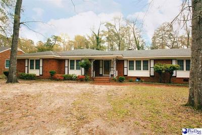 Kingstree Single Family Home For Sale: 1204 Second Avenue