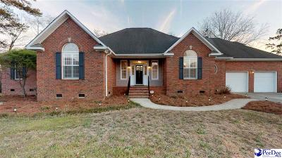 Florence Single Family Home Uc/Show For Back Up: 3321 W Hampton Pointe Drive