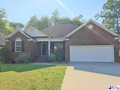 Single Family Home For Sale: 1831 Wax Myrtle Dr