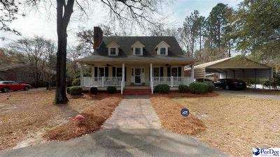 Hartsville Single Family Home Uc/Show For Back Up: 1505 Ballentine Drive