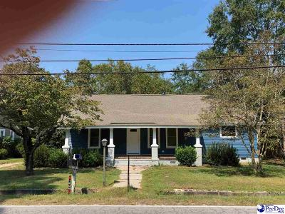 Hartsville Single Family Home For Sale: 1026 E Home Ave