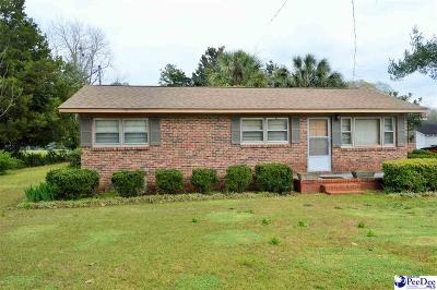 Hartsville Single Family Home Uc/Show For Back Up: 315 14th Street