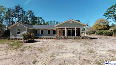 Hartsville Single Family Home Uc/Show For Back Up: 1124 Forest Dr.