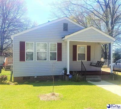 Dillon SC Single Family Home For Sale: $69,900