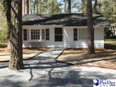 Florence Single Family Home For Sale: 907 Sherwood Dr.