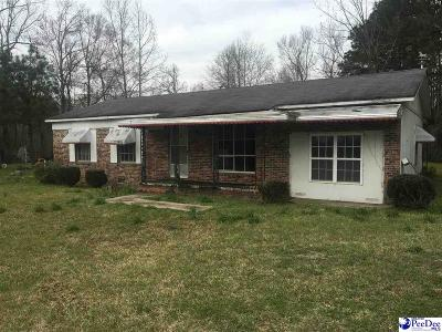 Mullins Single Family Home For Sale: 2915 Capps Corner Rd