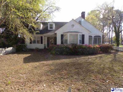 Sumter SC Single Family Home For Sale: $113,900