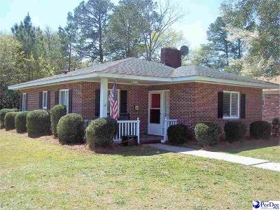 Dillon SC Single Family Home Uc/Show For Back Up: $69,900