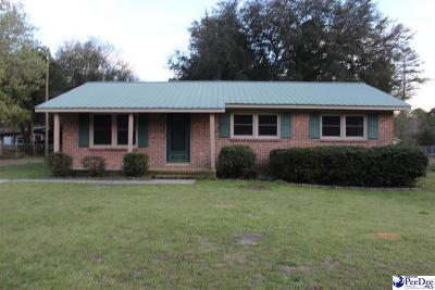 Hartsville Single Family Home For Sale: 1521 Kimberly Dr