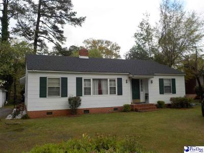 Bennettsville Single Family Home Uc/Show For Back Up: 102 Usher Street
