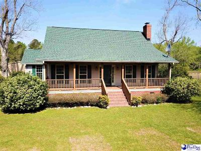 Timmonsville Single Family Home Uc/Show For Back Up: 423 Victor White Road