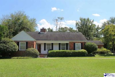 Hartsville Single Family Home Uc/Show For Back Up: 534 W Richardson Circle