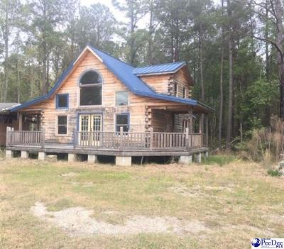 Hamer SC Single Family Home Uc/Show For Back Up: $45,000