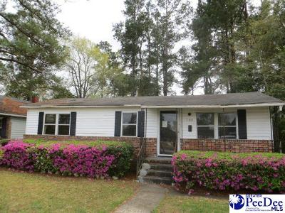 Kingstree Single Family Home For Sale: 706 St John Street