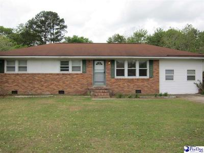 Florence Single Family Home Uc/Show For Back Up: 2309 Broad Drive