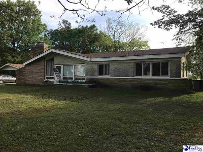 Bennettsville Single Family Home For Sale: 819 Hamlet Highway