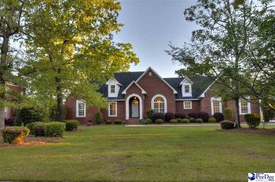 Florence SC Single Family Home Uc/Show For Back Up: $330,000