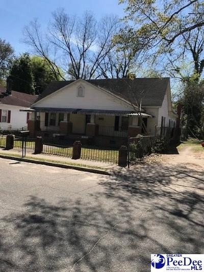 Hartsville Single Family Home New: 410 Howard Street