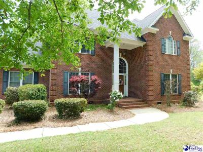 Hartsville Single Family Home New: 323 Thoroughbred Trail