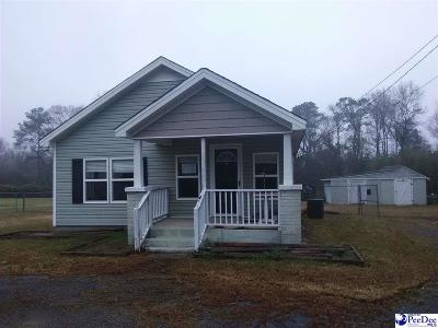 Hartsville Single Family Home Uc/Show For Back Up: 1332 E Home Ave