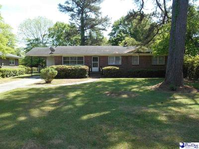 Florence SC Single Family Home For Sale: $139,900