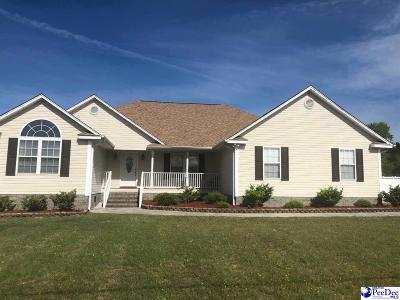 Hartsville Single Family Home Uc/Show For Back Up: 1432 Whippoorwill Rd