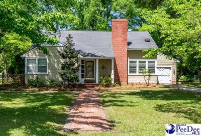 Florence SC Single Family Home For Sale: $189,900