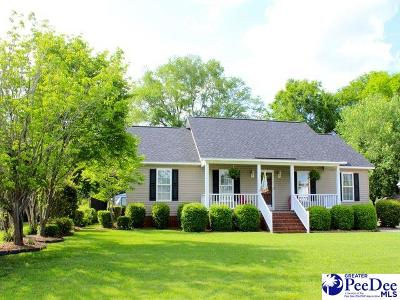 Florence SC Single Family Home Uc/Show For Back Up: $149,900