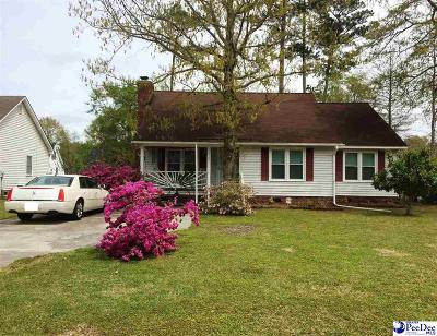 Florence SC Single Family Home New: $125,900