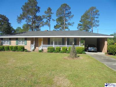 Marion SC Single Family Home For Sale: $139,900