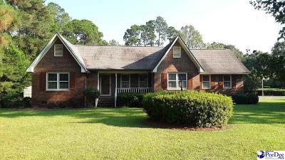 Hartsville Single Family Home For Sale: 1329 Salem Rd