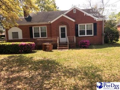 Single Family Home For Sale: 1200 King